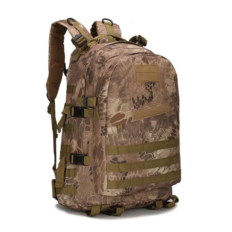 55L 600D Outdoor Sport Bags Military Tactical climbing mountaineering Molle  Backpack Camping Hiking Travel waterproof Bag a9ec2c1c56e32